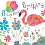 Flamingo Paperie birthday flamingo