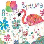 Flamingo Paperie birthday flamingo