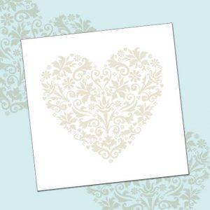card 'Silver Heart' (code: LS53)