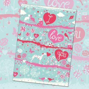 card 'I Love You' (code: A111)