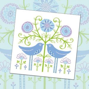 card 'Two Birds' (code: WS285)