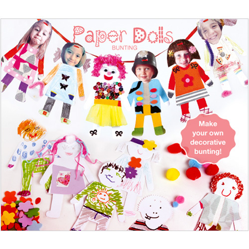 Paper Dolls bunting