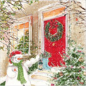 The Christmas Door Phoenix Trading charity Christmas cards Phoenix Trading Christmas card personalised corporate