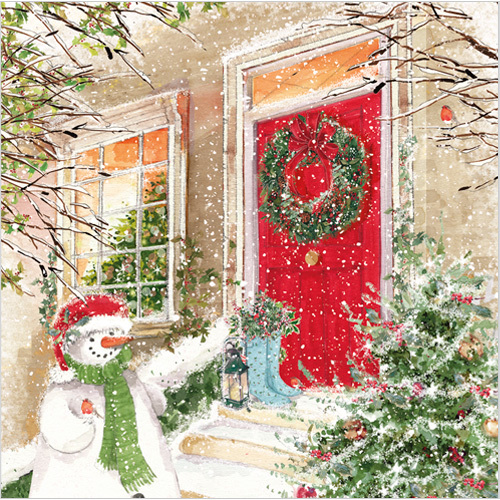 The Christmas Door Phoenix Trading charity Christmas cards