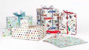 Phoenix Trading gift wrapping Flamingo Paperie