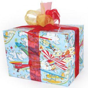 phoenix trading aeroplanes gift wrap