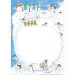 Snowmen notepaper Christmas sets