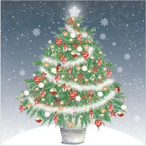 Christmas Tree bestselling Christmas cards