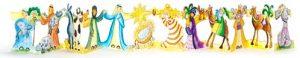 Nativity Crafts frieze card Phoenix Trading