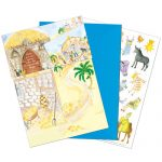 Nativity Crafts Christmas sticker card Phoenix Trading