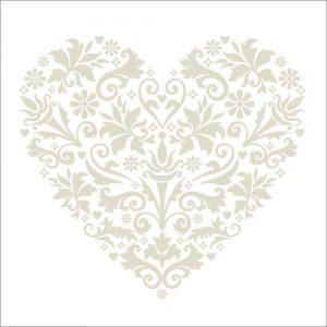 Silver Heart Valentines