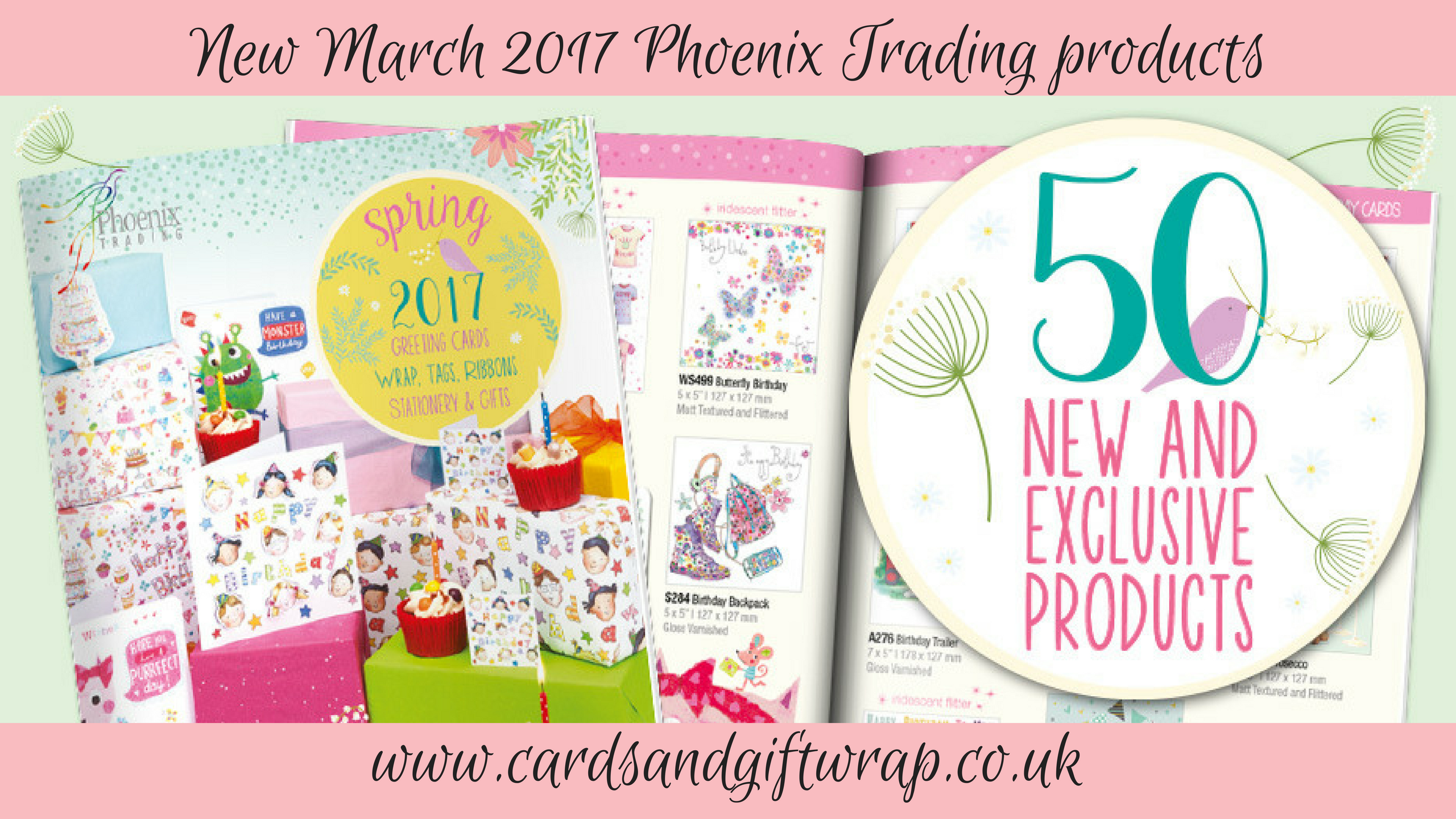 Phoenix Trading March new cards