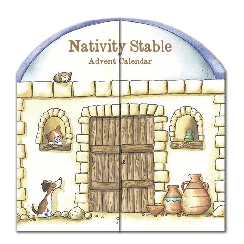 nativity stable advent calendar