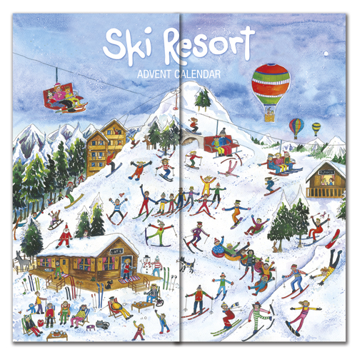 ski resort advent calendar