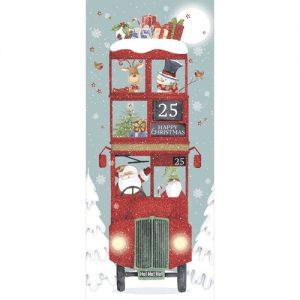 christmas bus christmas cards