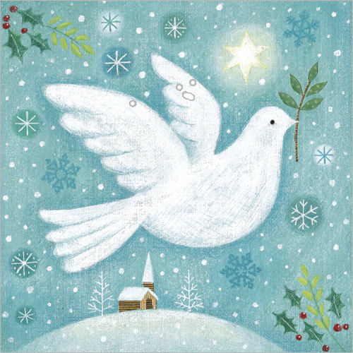 dove christmas cards