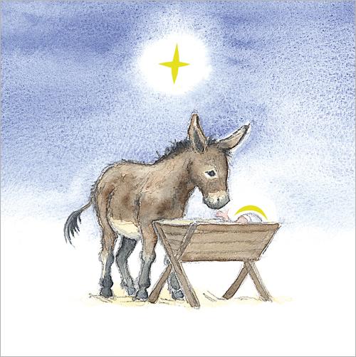 The Crib christmas cards