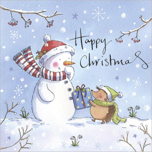 snowman and hedgehog honor ayres