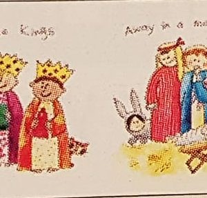 little nativity story christmas cards