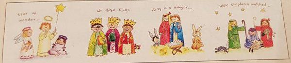 little nativity story christmas cards