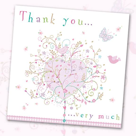 Thank you, greeting card, Phoenix Trading business thank you cards