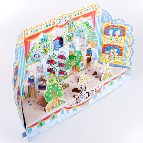 Christmas Pantomime advent calendar with stand up pieces and a door to open every day. Code ADV36 traditional advent calendar