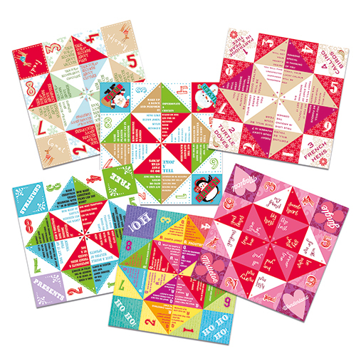 chatterboxes fortune tellers advent activities