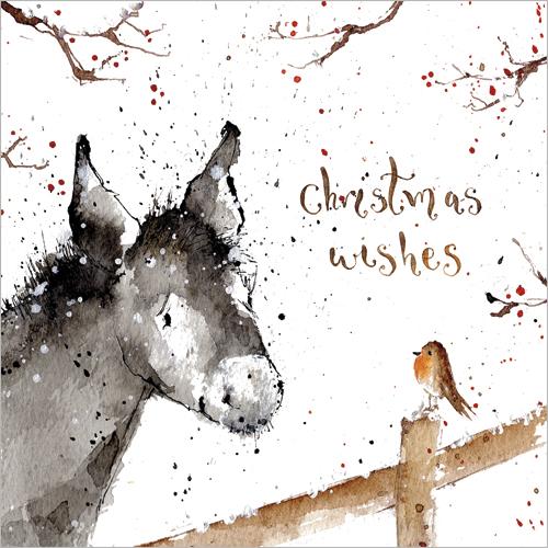 little donkey christmas cards