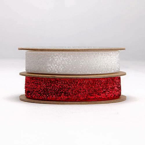 Sparkly grosgrain ribbon
