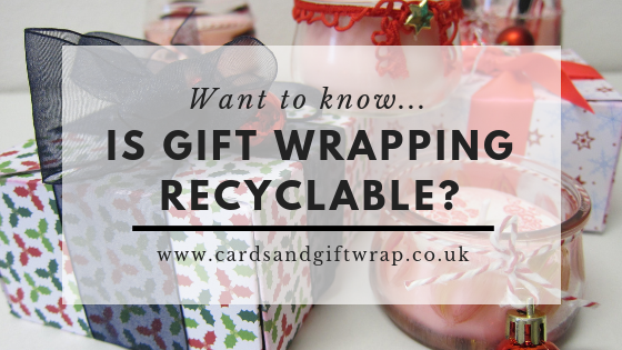 is gift wrapping recyclable
