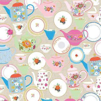 Teapots gift wrap