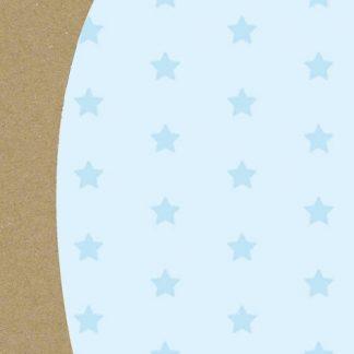 Baby Blue Stars Tissue