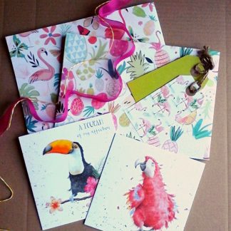 cards and gift wrap subscription box