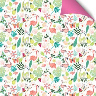 Tropical gift wrap