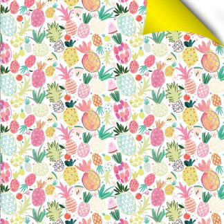Pineapples gift wrap