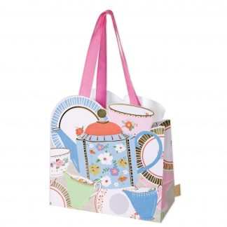 Teapots medium gift bag