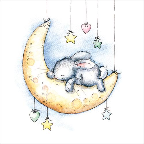 moon bunny moon landing
