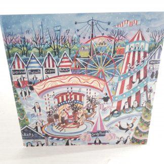 Winter Wonderland advent calendar card