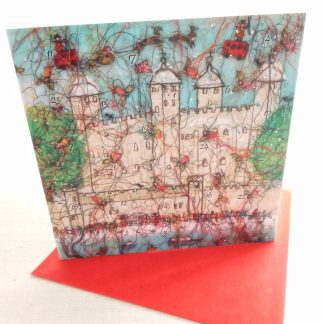 Tower Treasures Advent Calendar Card