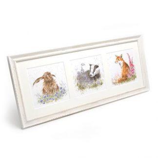 Wrendale framed prints trios