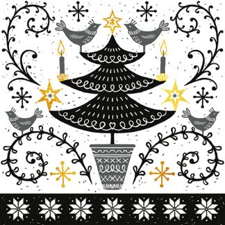 Nordic Tree Christmas Cards