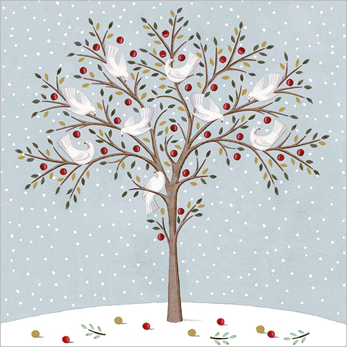 Tree Of Doves Christmas Cards Cards And Gift Wrap